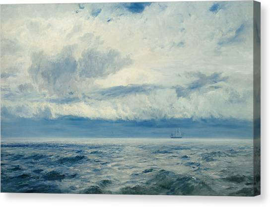 Storms Canvas Print - Storm Brewing by Henry Moore