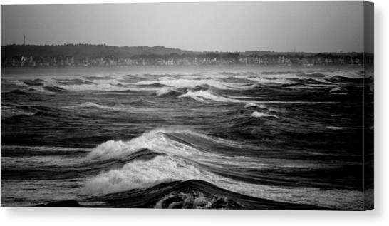 Storm Brewing Canvas Print by Sarah Jean Sylvester