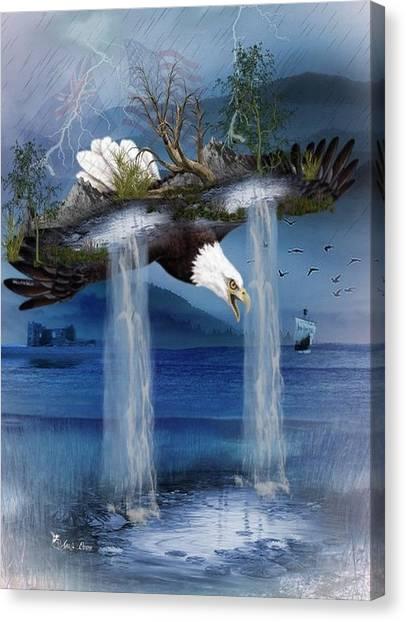 Storm Catcher Canvas Print
