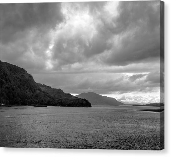 Storm On The Isle Of Skye, Scotland Canvas Print