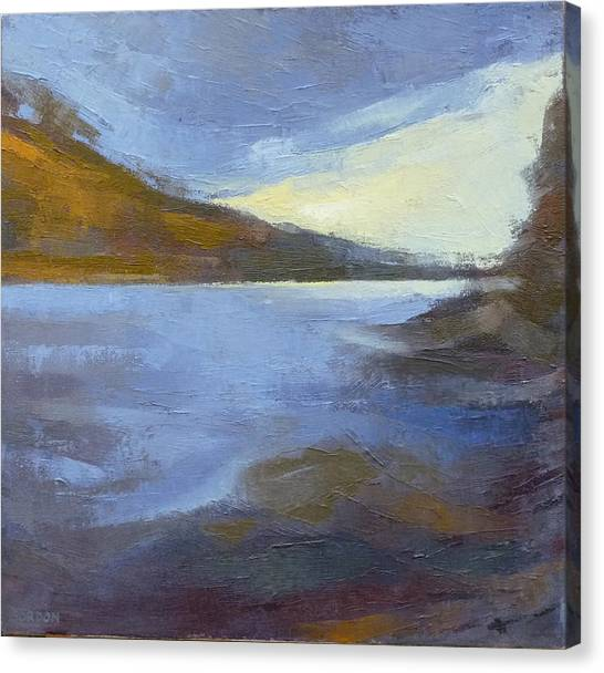Canvas Print - Storm Clouds Break Over The River Gorge by Kim Gordon