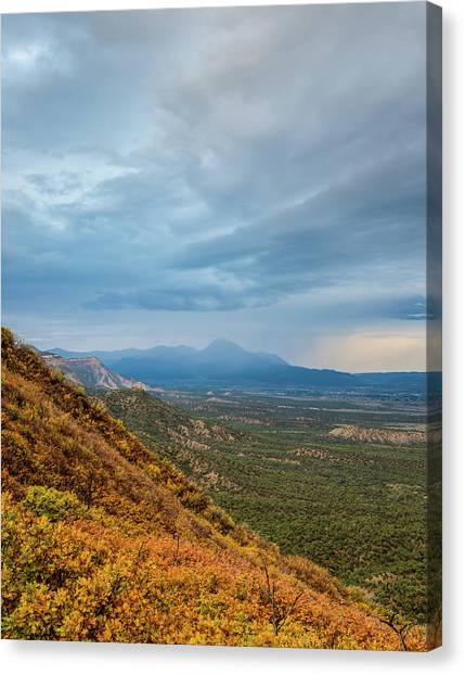 Verde Canvas Print - Storm Clouds by Joseph Smith