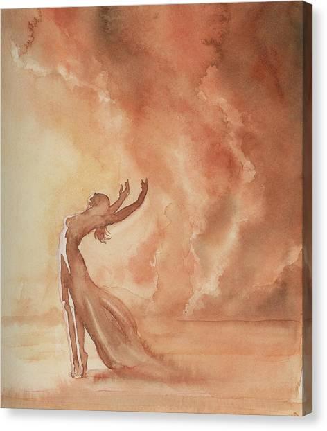 Storm Dancer Canvas Print