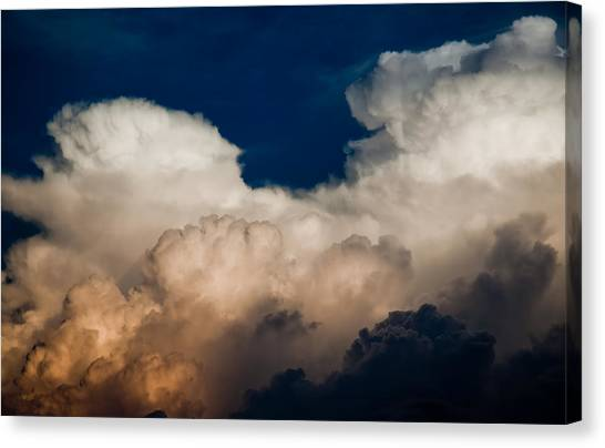 Storm Front Canvas Print by Patrick  Flynn