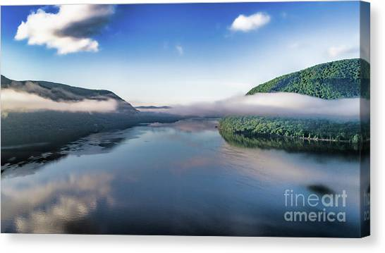 Storm King And The Highlands Canvas Print
