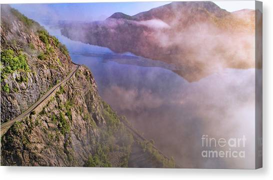 Storm King Highway Canvas Print