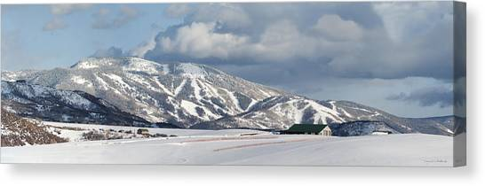 Storm Mountain Canvas Print