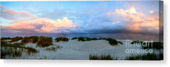 Storm Of Pastels Canvas Print