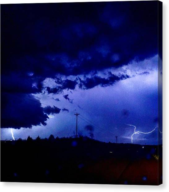 Storm On Farmer's Turnpike Canvas Print