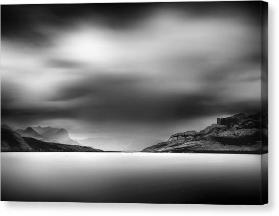 Storm Over Jasper Lake Canvas Print