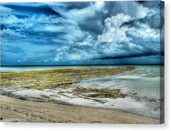 Storm Over Yamacraw Canvas Print