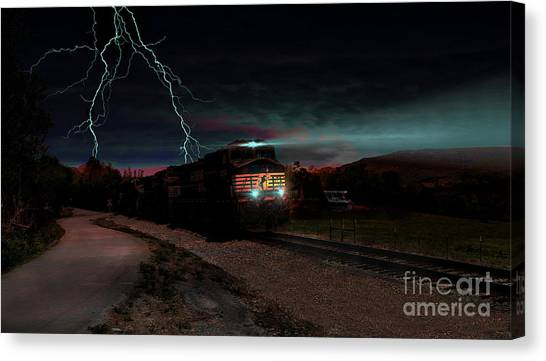 Storm Runners Canvas Print