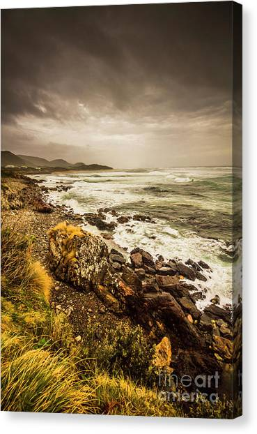 Natural Landscapes Canvas Print - Storm Season by Jorgo Photography - Wall Art Gallery