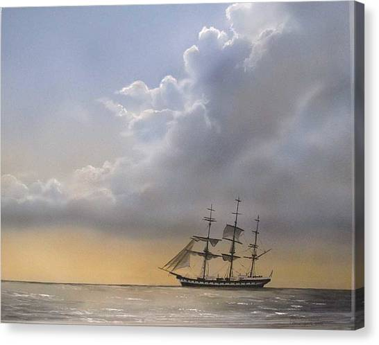 Storm Sky Canvas Print