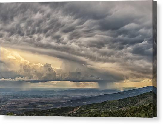 Storm View Canvas Print