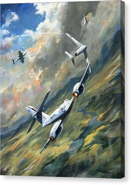 'storm Warning' Canvas Print