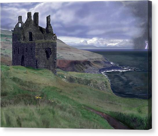 Stormbringer Canvas Print