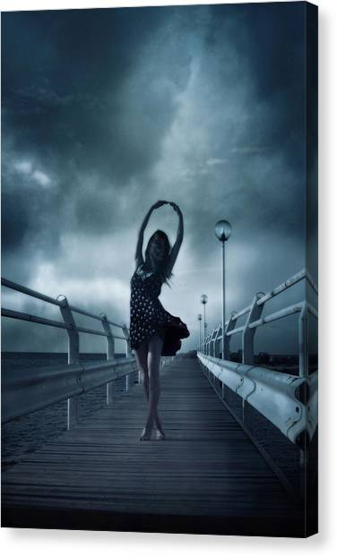 Dance Canvas Print - Stormdance by Cambion Art