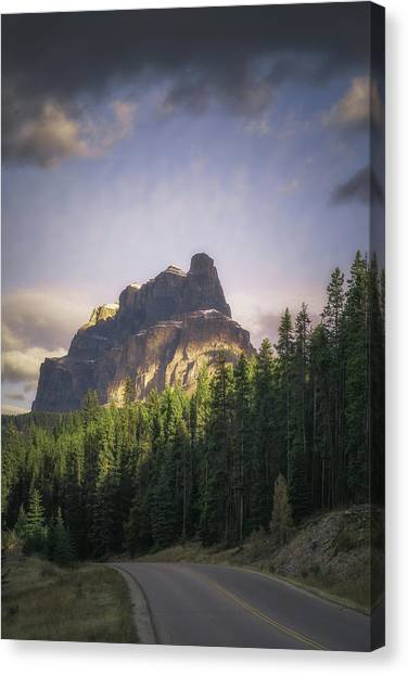 Alberta Canvas Print - Storming The Castle by Chris Fletcher