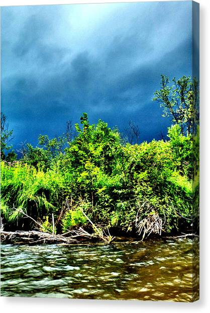 Storms Canvas Print