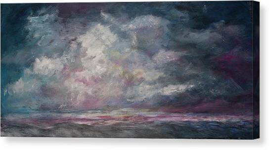 Storm's Approaching Canvas Print