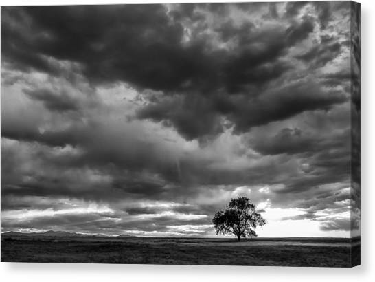 Storms Clouds Passing Canvas Print