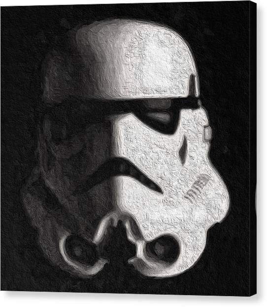 Canvas Print - Stormtrooper V2 by Modern Art