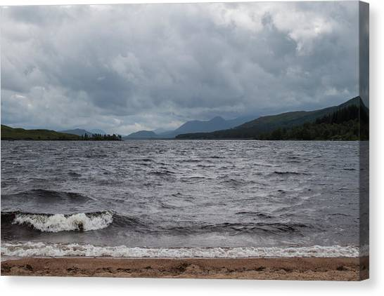 Canvas Print - Stormy Afternoon by Jo Jackson