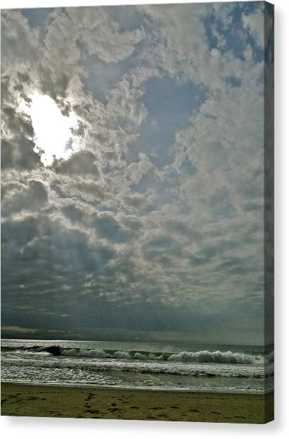Stormy Afternoon Canvas Print by Liz Vernand
