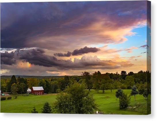 Stormy Clouds Canvas Print