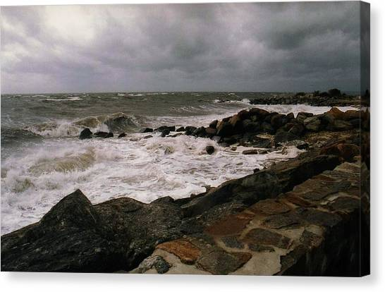 Stormy Day Canvas Print
