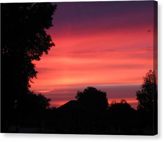 Stormy Evening Sky Canvas Print by Frederic Kohli