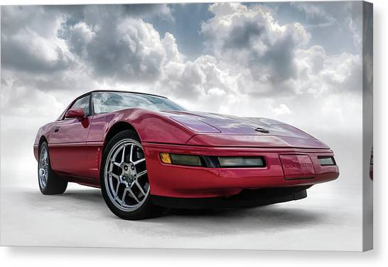 Chevy Canvas Print - Stormy Forecast by Douglas Pittman