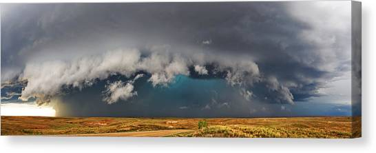 Stormy Horizon Canvas Print