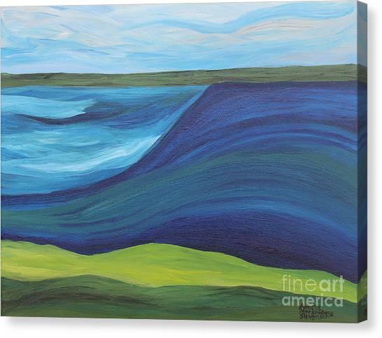 Stormy Lake Canvas Print