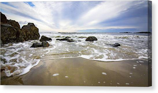Stormy Maine Morning #1 Canvas Print