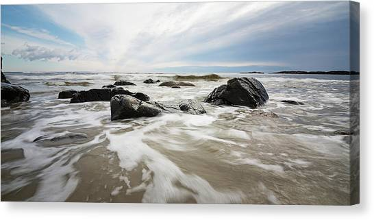Stormy Maine Morning #3 Canvas Print