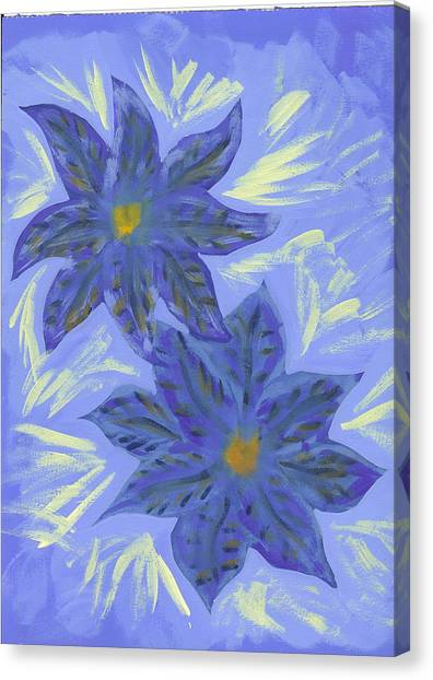 Stormy Monday Canvas Print by Laura Lillo