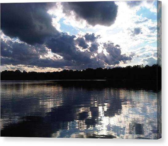 Stormy Reflections Canvas Print by Jessica Yudis