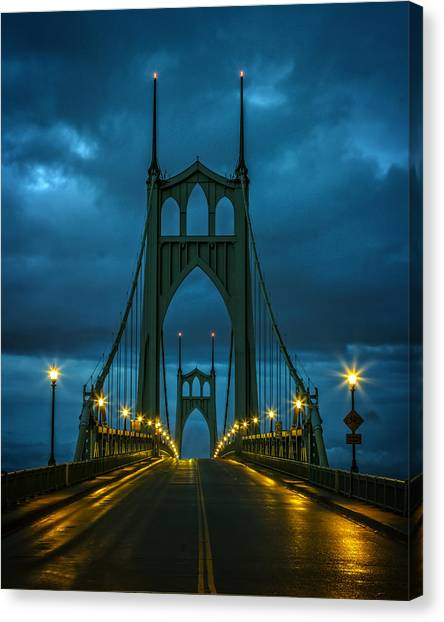 Stormy St. Johns Canvas Print
