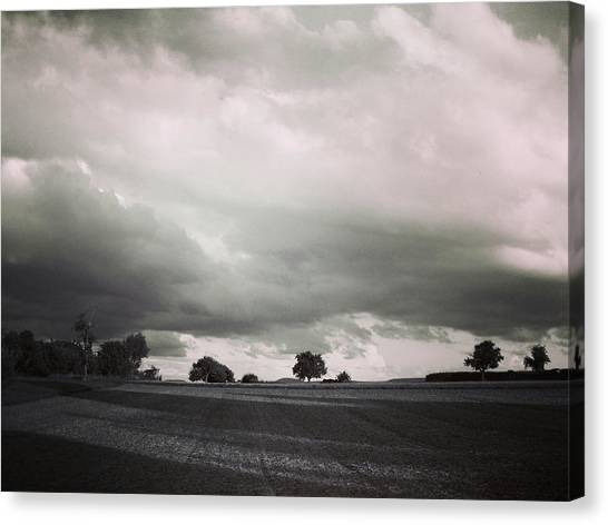 Stormy Times Canvas Print