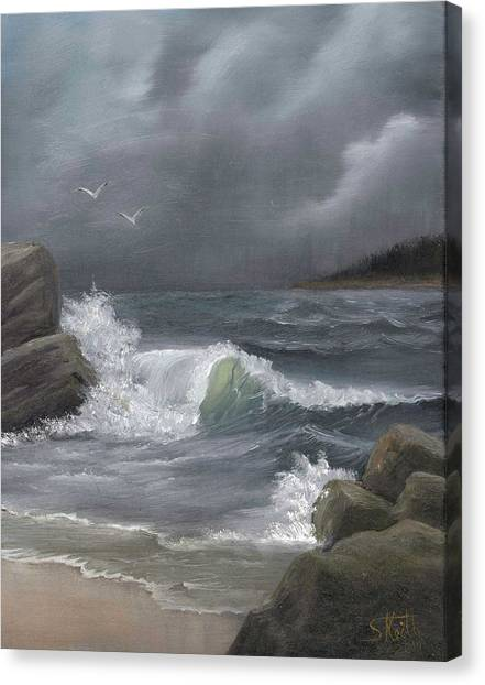 Stormy Waters Canvas Print