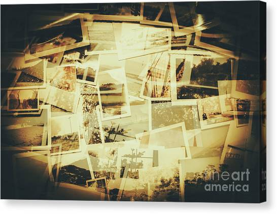Abstractions Canvas Print - Storyboard Of Past Memories by Jorgo Photography - Wall Art Gallery