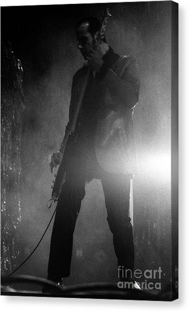 Stone Temple Pilots Canvas Print - Stp-2000-robert-0915 by Timothy Bischoff
