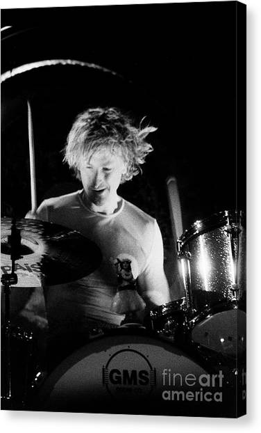 Stone Temple Pilots Canvas Print - Stp-2000-eric-0922 by Timothy Bischoff