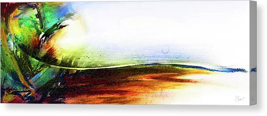 Straight Paths Canvas Print