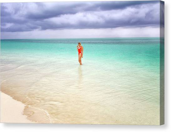 Stranded Canvas Print