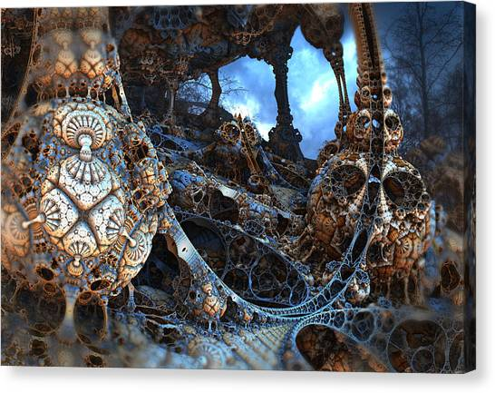 Strange Surroundings Canvas Print