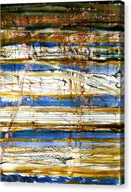 Strata Canvas Print by Tom Hefko