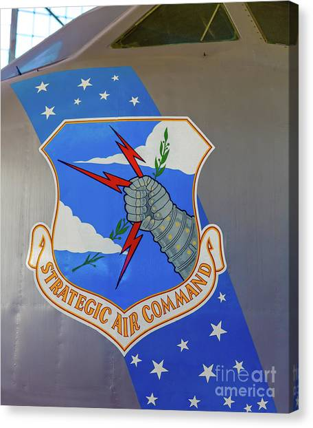Strategic Air Command Canvas Print